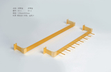 燕尾领带架定制-不锈钢服装道具